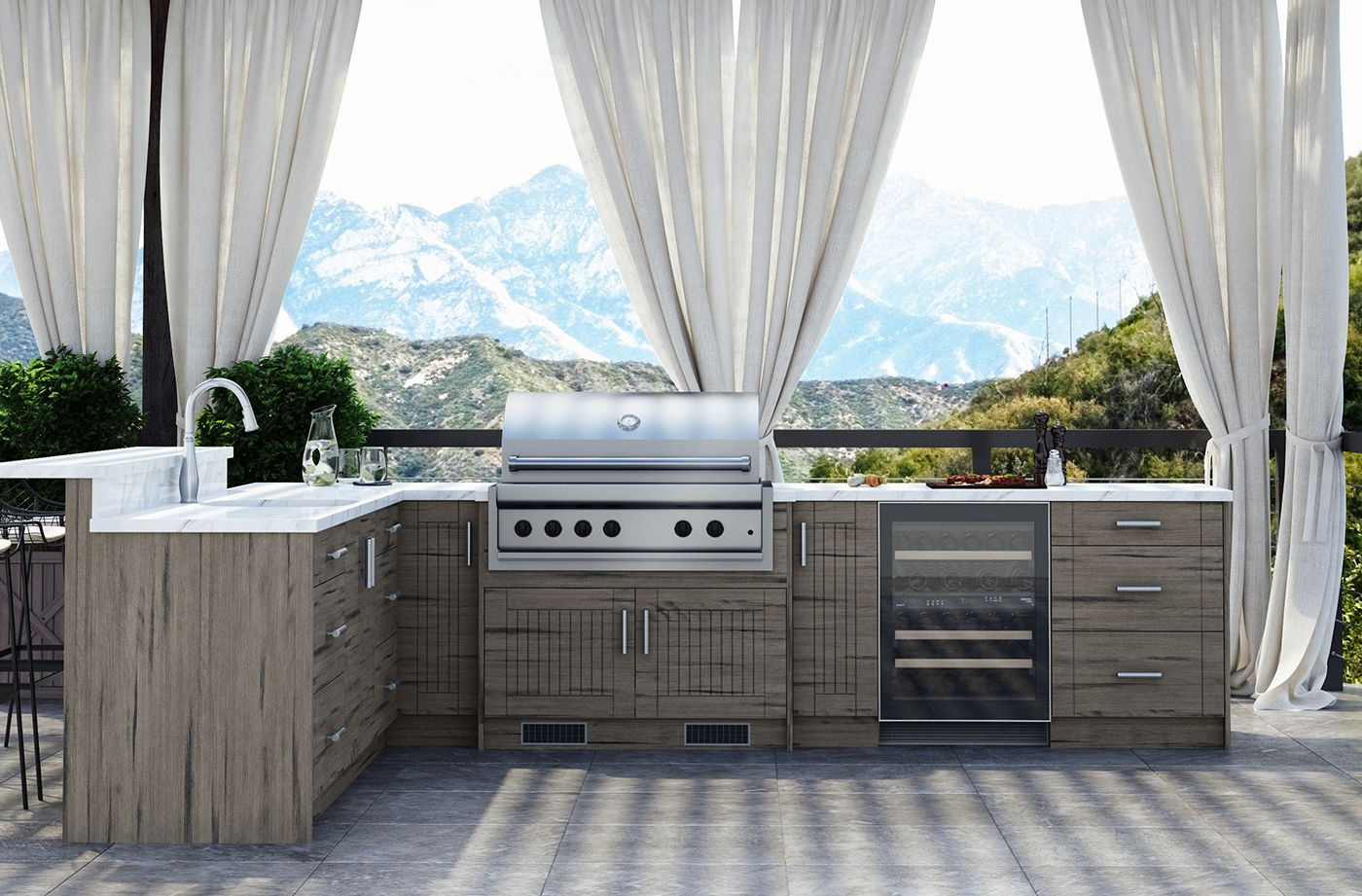 Outdoor Kitchen Packages Costco