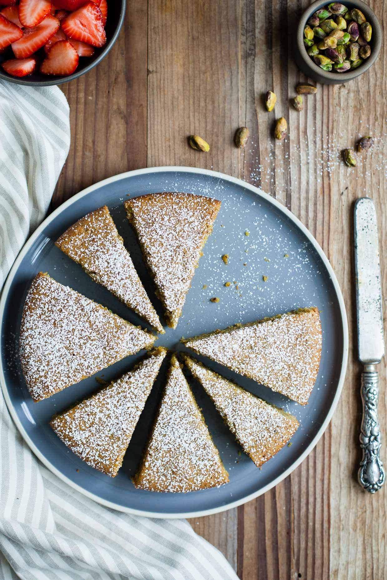 Rosewater recipes cake