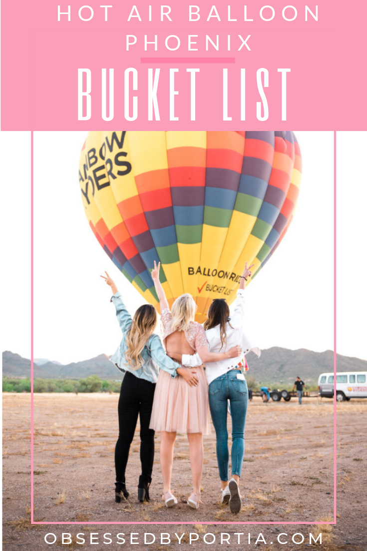 Bucket List Hot Air Balloon in Phoenix, Arizona A