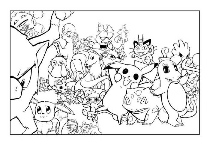 Printable Pokemon Coloring Pages For Your Kids Free Coloring Sheets Pokemon Coloring Pages Cartoon Coloring Pages Pikachu Coloring Page