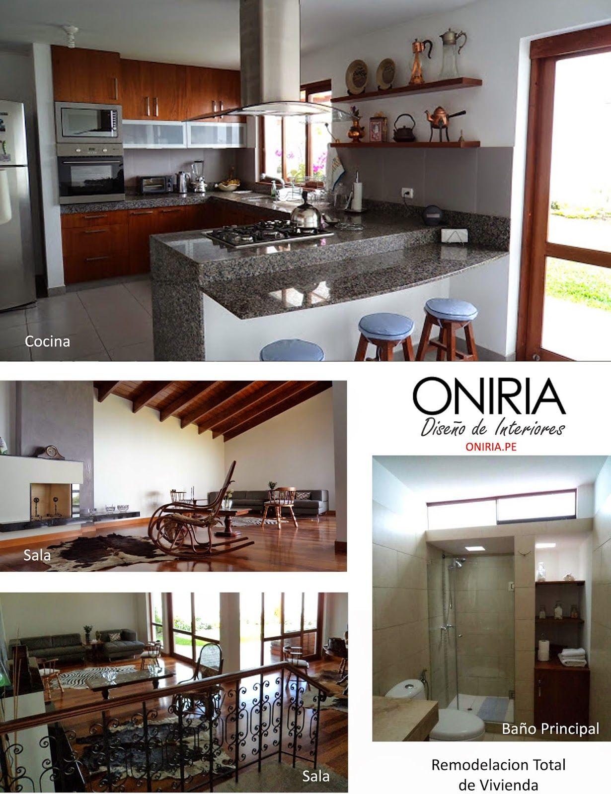 Oniria remodelaci n integrales de interiores de casas y d for Remodelacion de casas