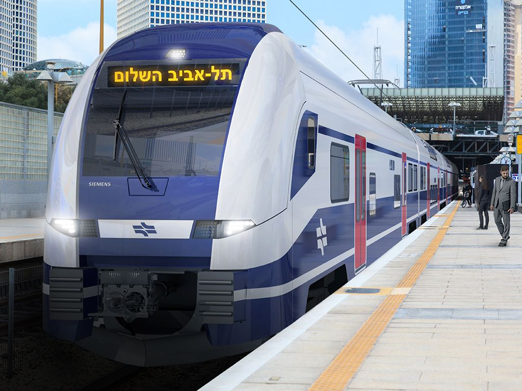 Israel Railways Signs Siemens Emu Contract Railway Gazette Train Siemens Railway
