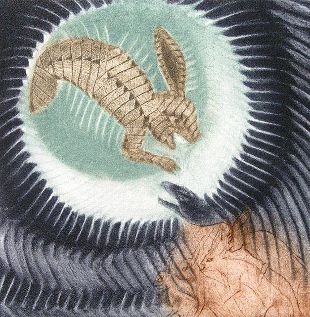 Conejo en la Luna Francisco Toledo, pintor mexicano
