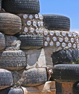how to build an earthship