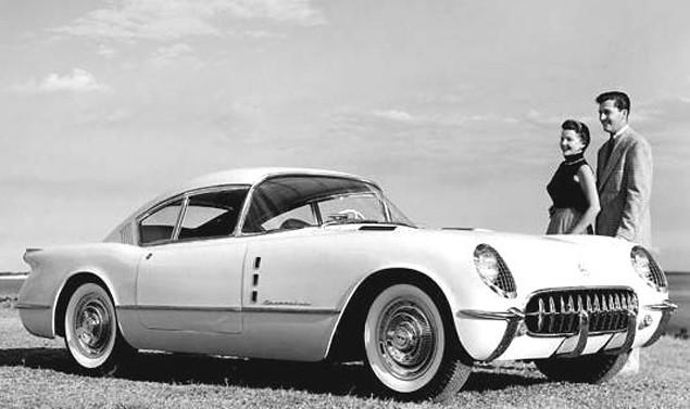 1954 Chevrolet Corvette Corvair Concept Chevrolet corvair