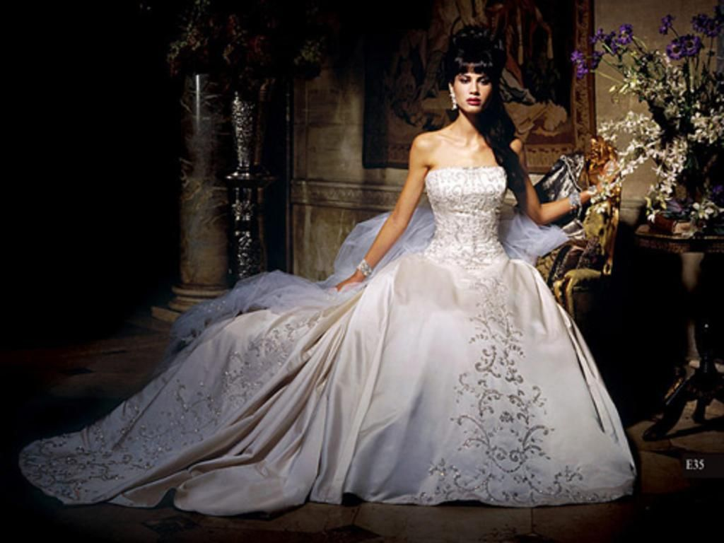Eve of milady wedding dresses with - Eve Of Milady Exquisite Eve Of Milady E35 Ball Gown Dress Size 4