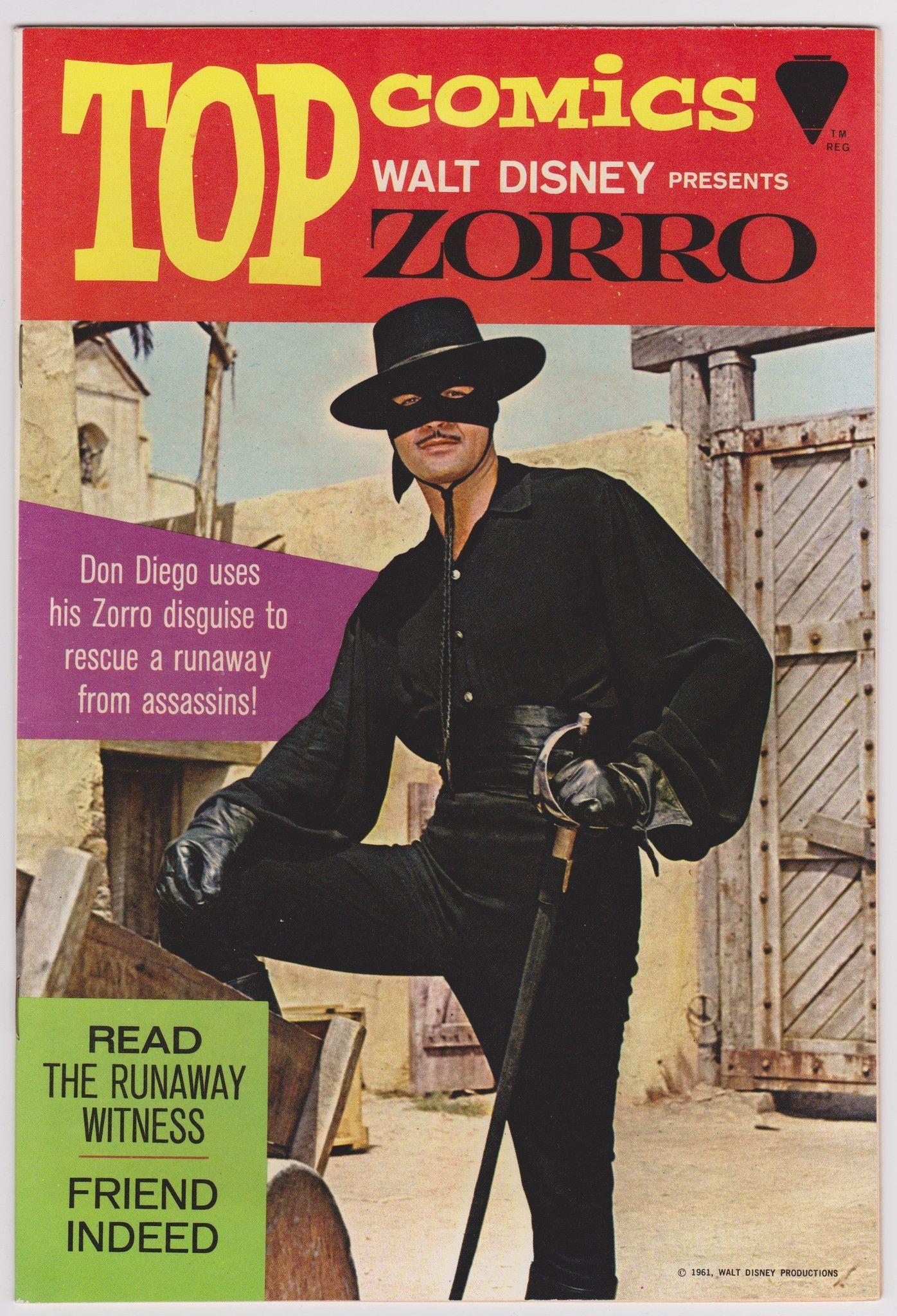 Top Comics Presents Zorro #1 1967 7.5 VF-