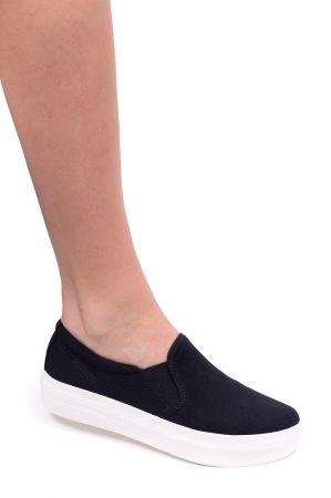 Vagabond Trampki Koturny 4144 380 20 Keira Black Shoes Slip On Sneaker Sneakers