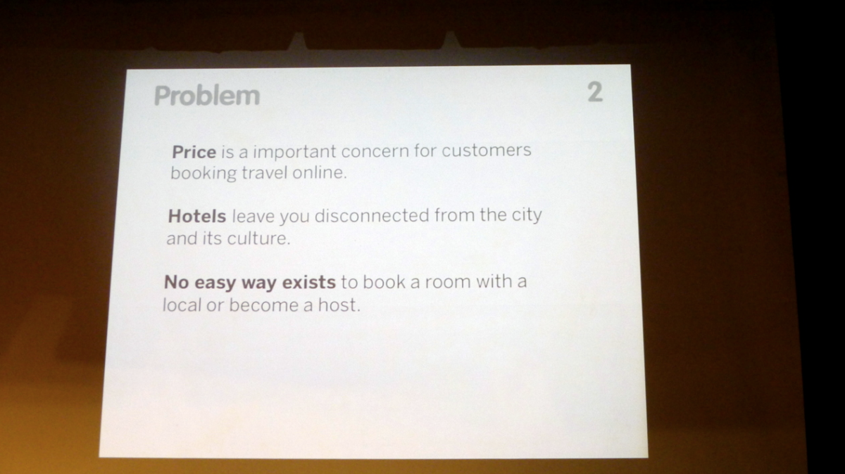 Airbnb's first pitch deck - Business Insider