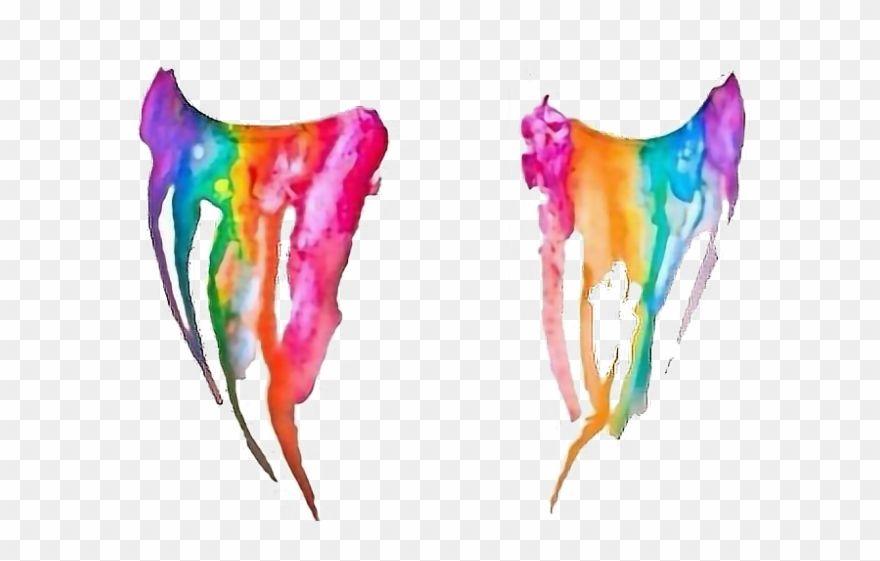 Tear Clipart Tumblr Transparent Rainbow Tears Png Clip Art Free Clip Art Rainbow