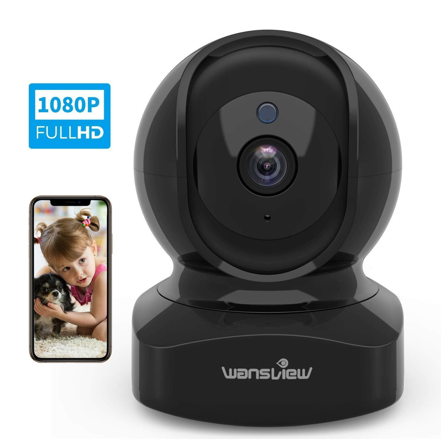 Wireless Security Camera, IP Camera 1080P HD Wansview