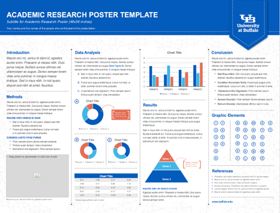 print research poster template life academic research poster