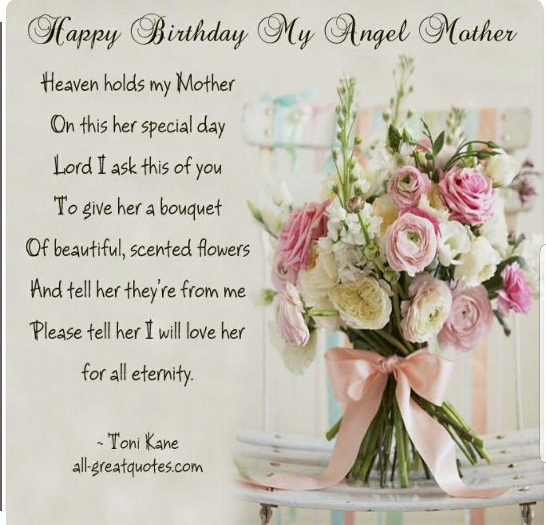 Pin by patti on Quotes Birthday wishes for mother