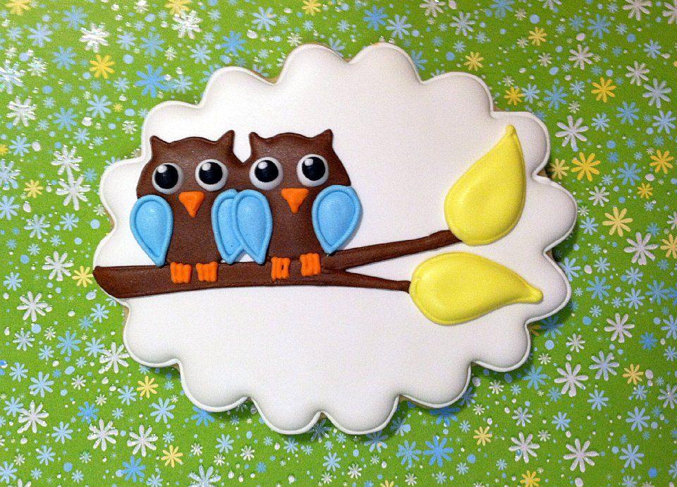 Owls cookie