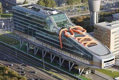 Ing Kantoor Amsterdam : Ing bank headquarters amsterdam awesome places to travel to