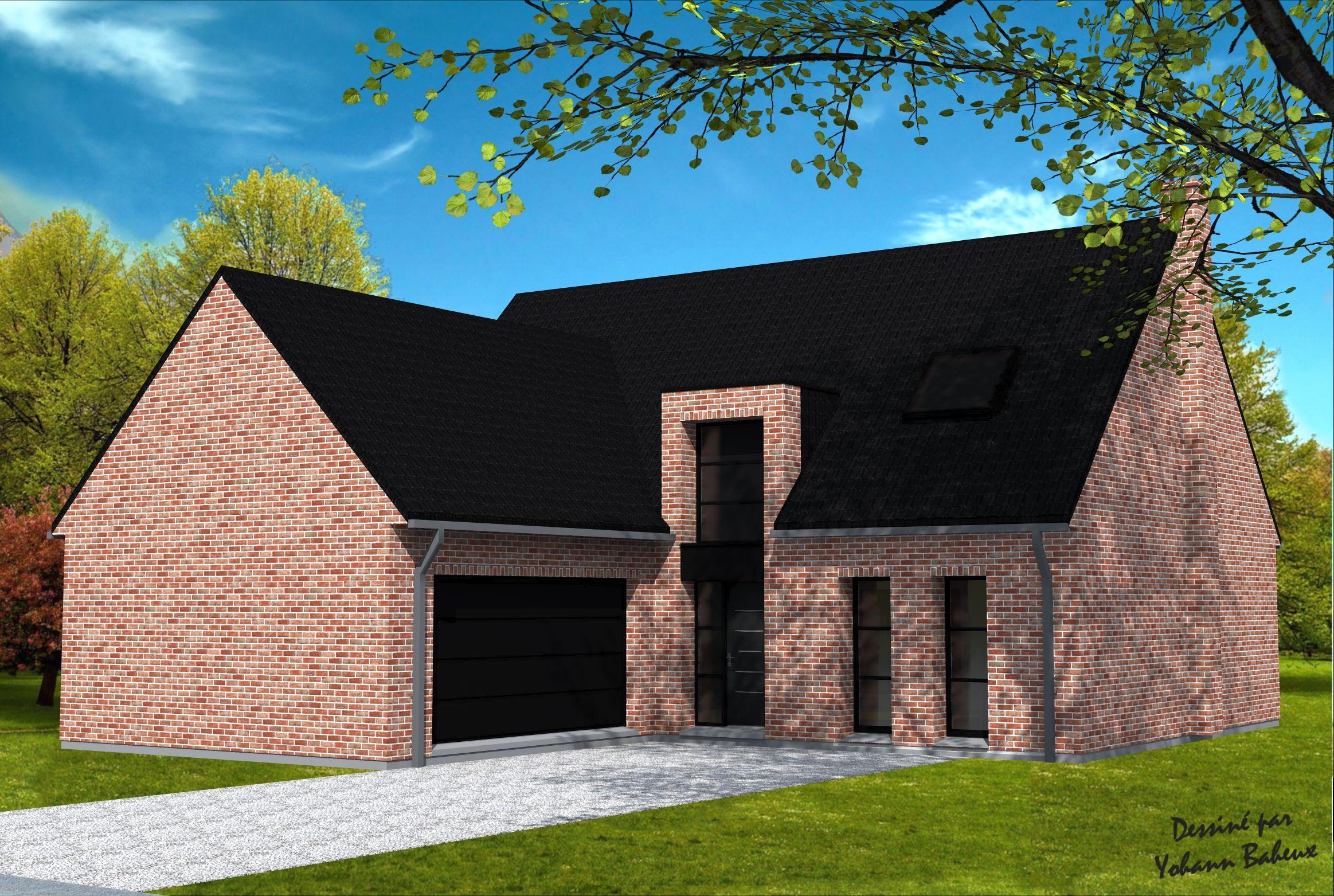 Planspermis Maison Maison Cubique Permis De Construire