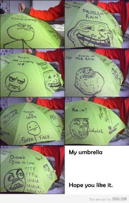 Umbrella memes