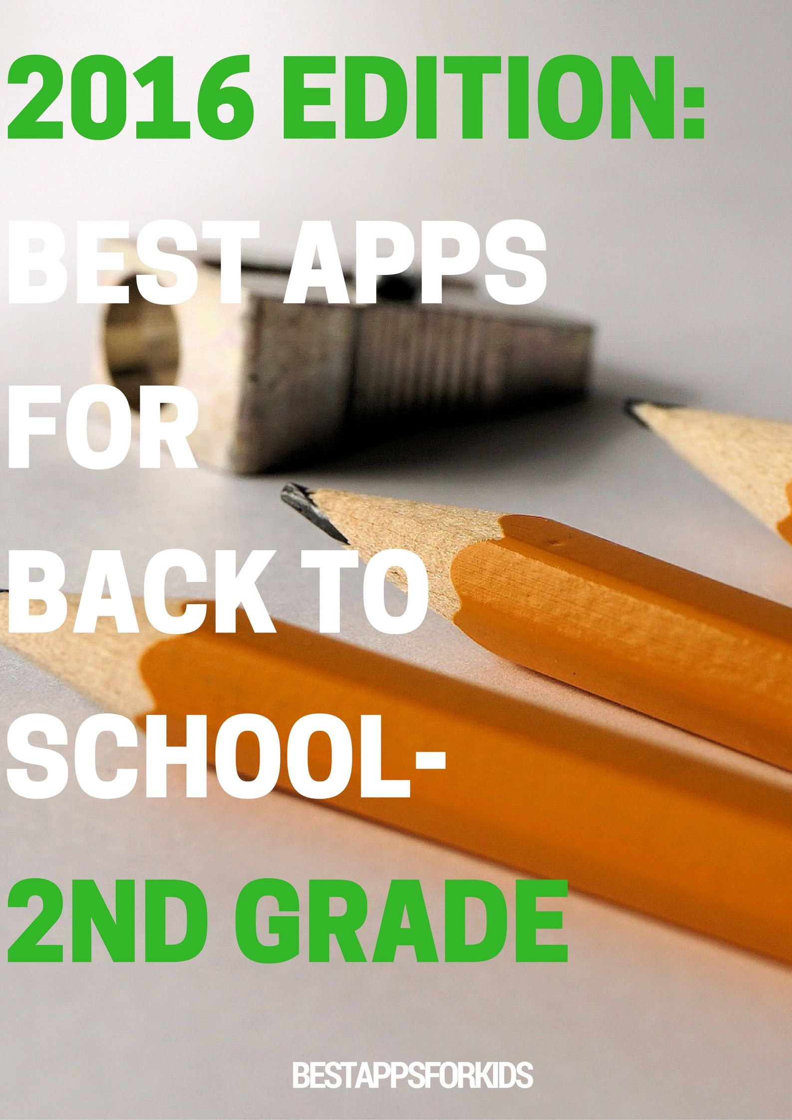 Best Apps for Back to School 2nd Grade Best apps