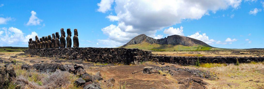 volkán Volcán Rano Raraku picture - Hledat Googlem