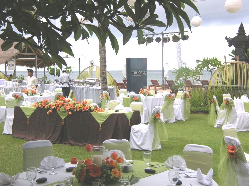 The Oasis Beach Benoa Bali Wedding Organizer Planner Packages