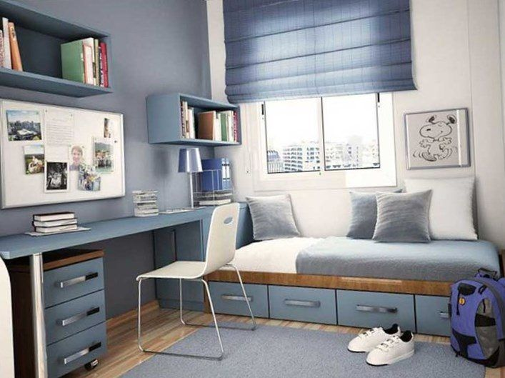 Boys Room Design, Teen Boy Rooms, Small Bedroom Designs