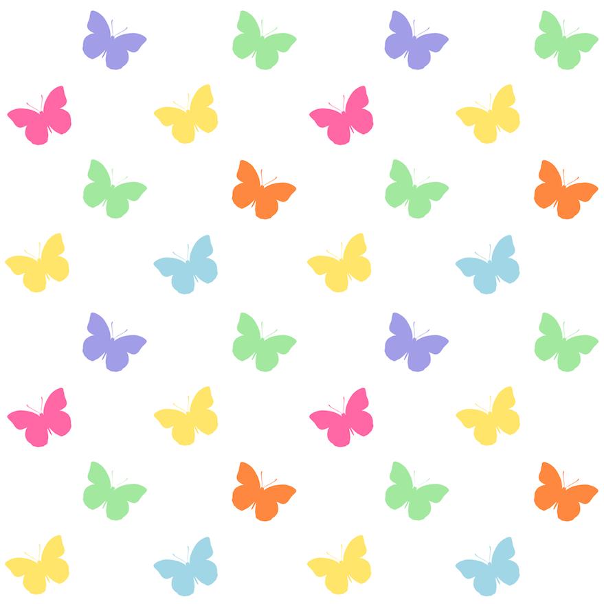 free digital butterfly scrapbooking papers - Schmetterlingspapier - freebie