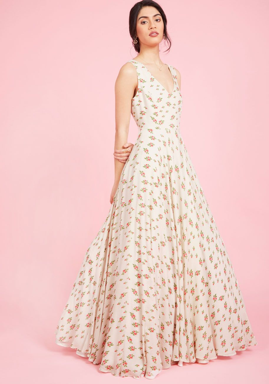 Ravishing Matters Floral Maxi Dress | ModCloth, Maxi dresses and Ivory