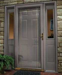 Pretty Color For Front Door Matching Storm Door With Images