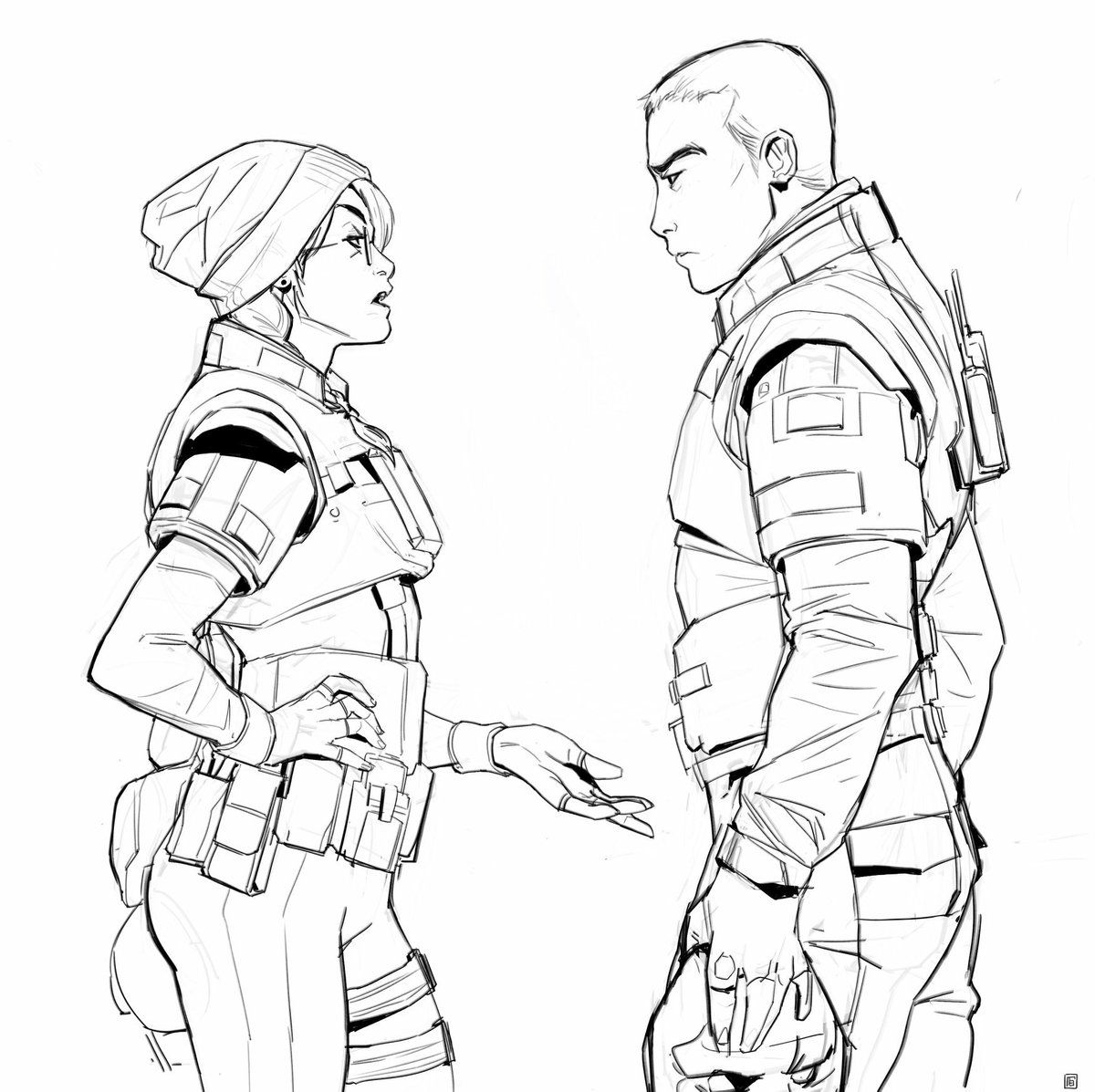 Vigil And Dokkaebi