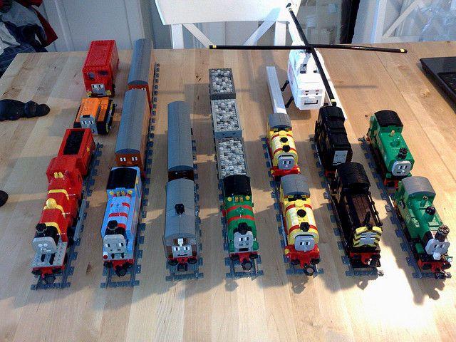 LEGO Thomas and Friends   Lego, Lego trains and Lego models