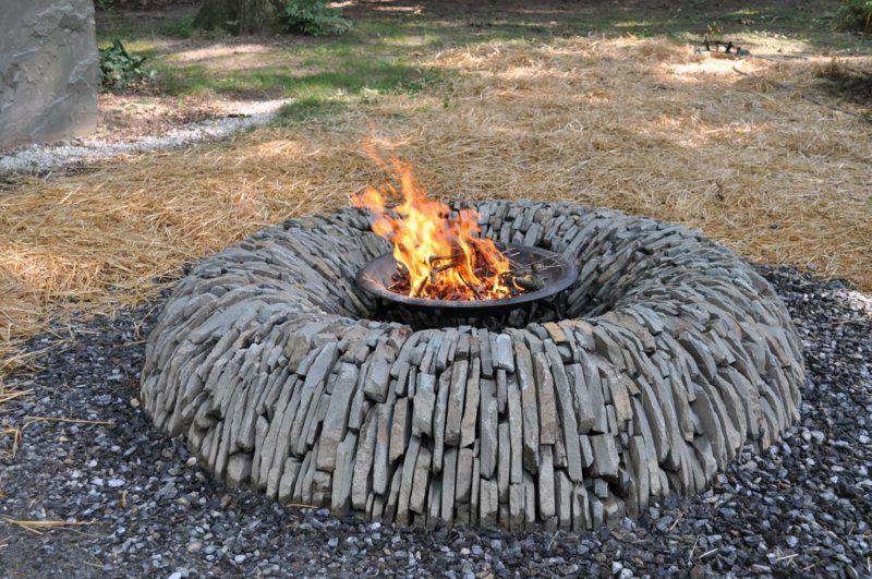 Wie Konnen Sie Eine Feuerstelle Bauen 60 Fotobeispiele Feuerstelle Garten Feuerstelle Selber Bauen Feuerstellen Im Freien
