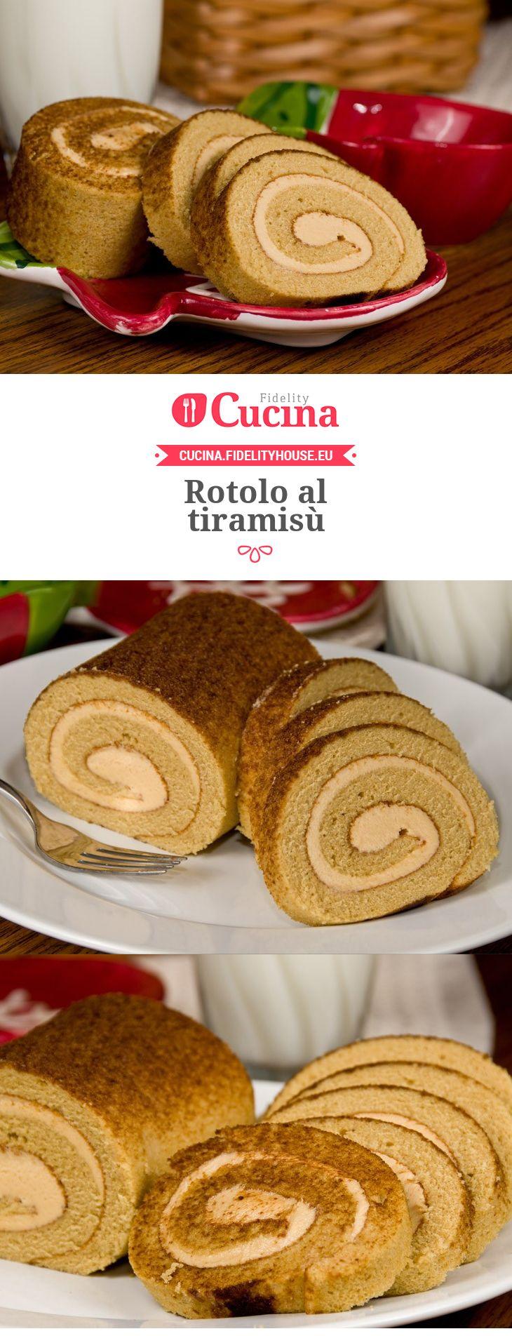 Rotolo al tiramis cucina dessert recipes torte cake for Siti ricette dolci
