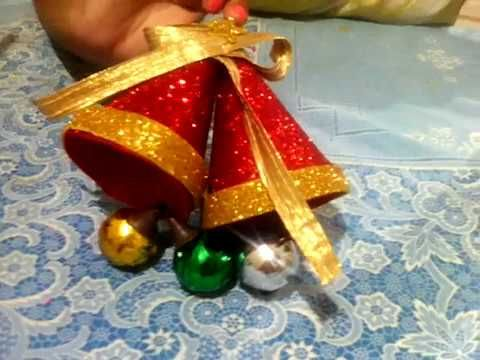 Bell Decor Beauteous Christmas Crafts From Wasted Plastic Bottle Amazing Diy Christmas Inspiration
