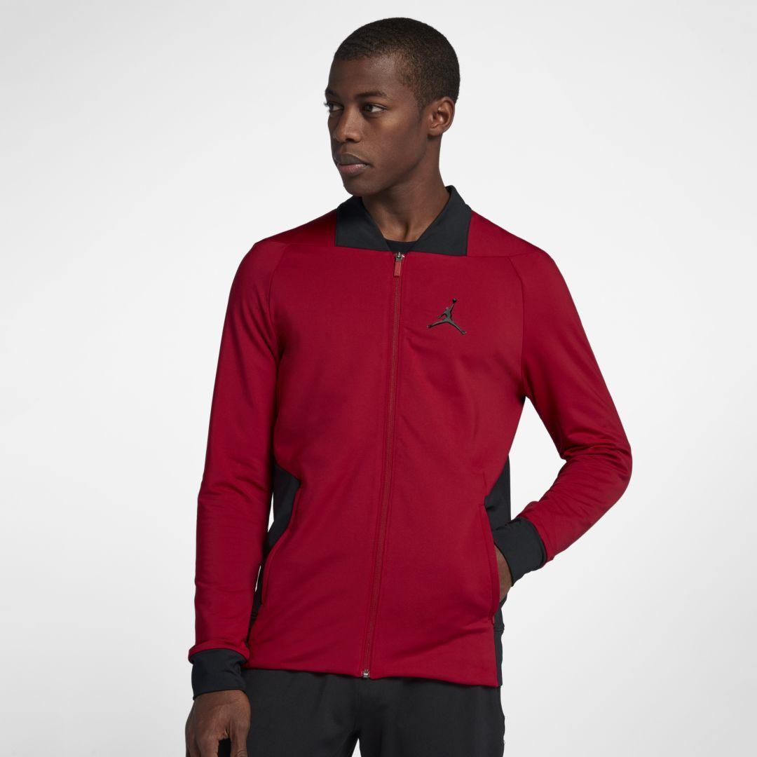 634afcb53e3570 Jordan Ultimate Flight Men s Basketball Jacket Size 2XL (Gym Red)