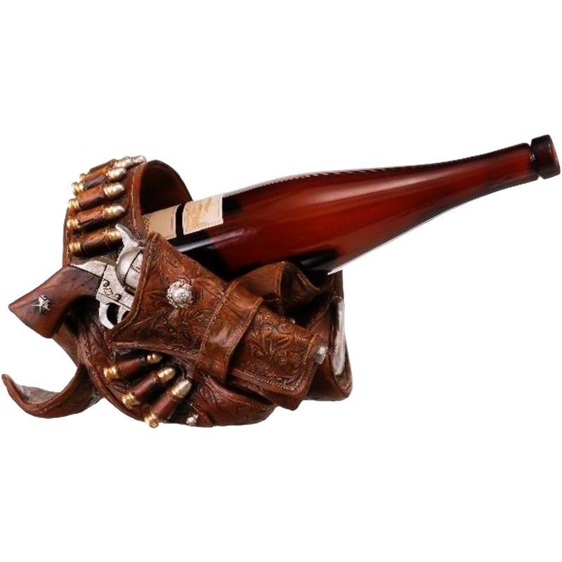Porta vinho Country Importado Perfeita Cinta de munição com Coldre Porta  garrafa de vinho. Produto 6f5ff3f05fb