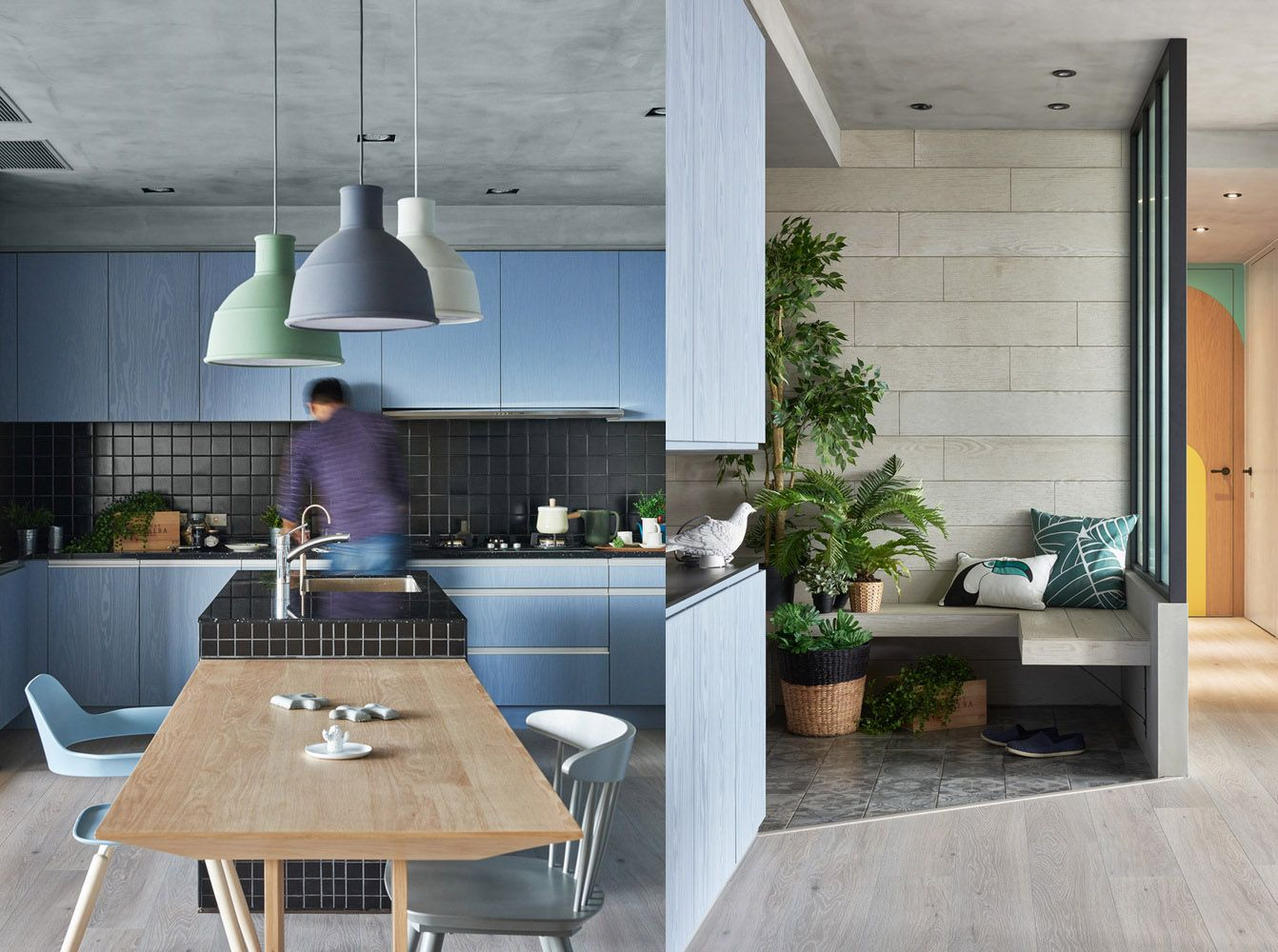 Colorful Modern Apartment For A Family With Small Children ...