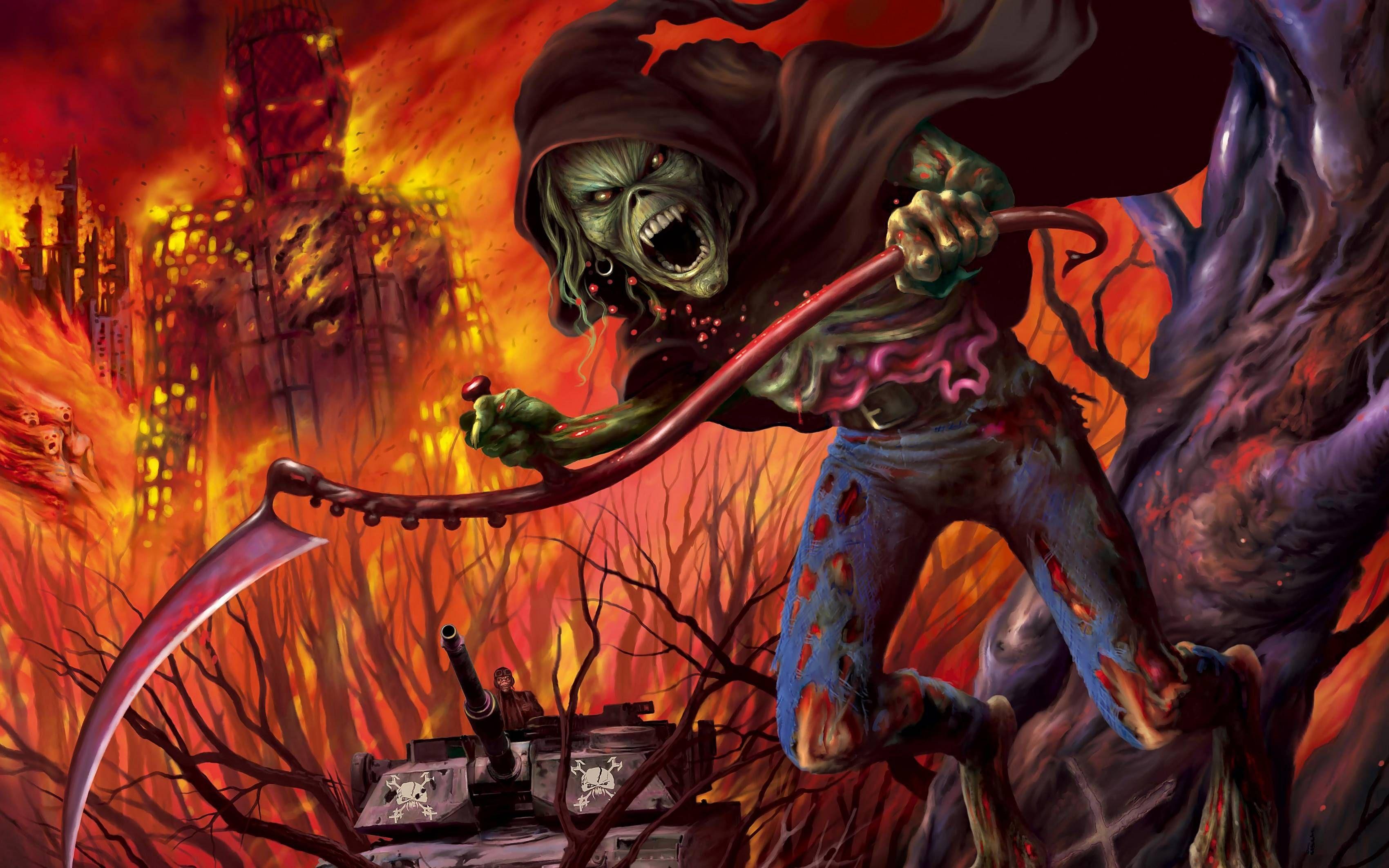 Iron Maiden Number Of The Beast Wallpaper Desktop