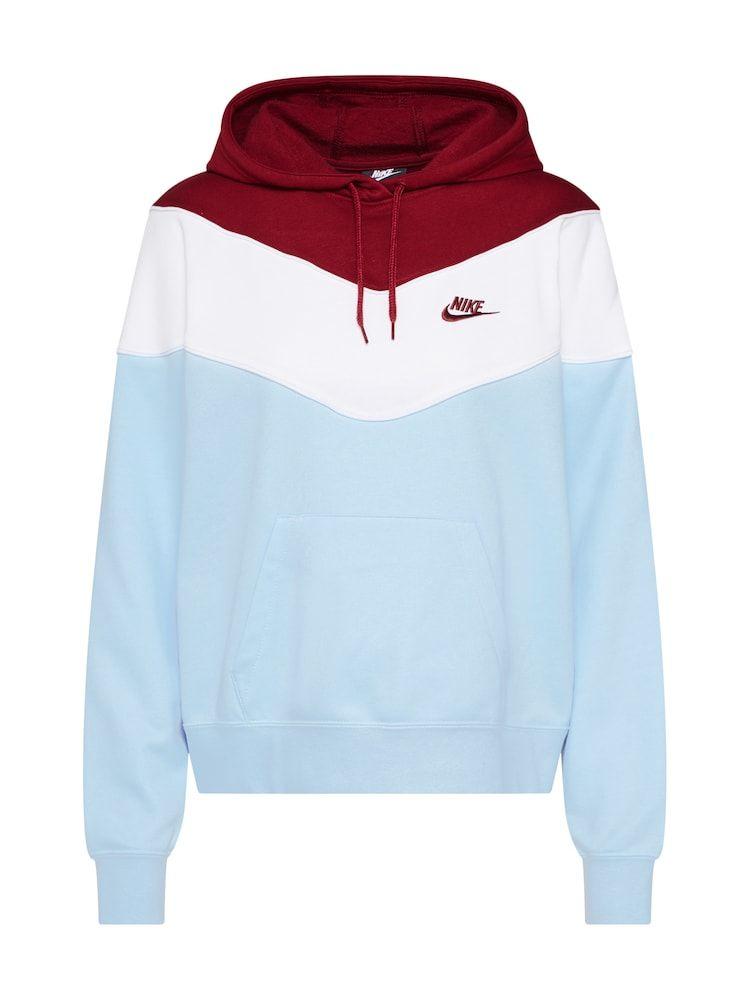 Nike Sportswear Sweatshirt Damen Blau Rot Weiss Grosse Xl Nike Sportbekleidung Sweatshirt Nike Sportswear