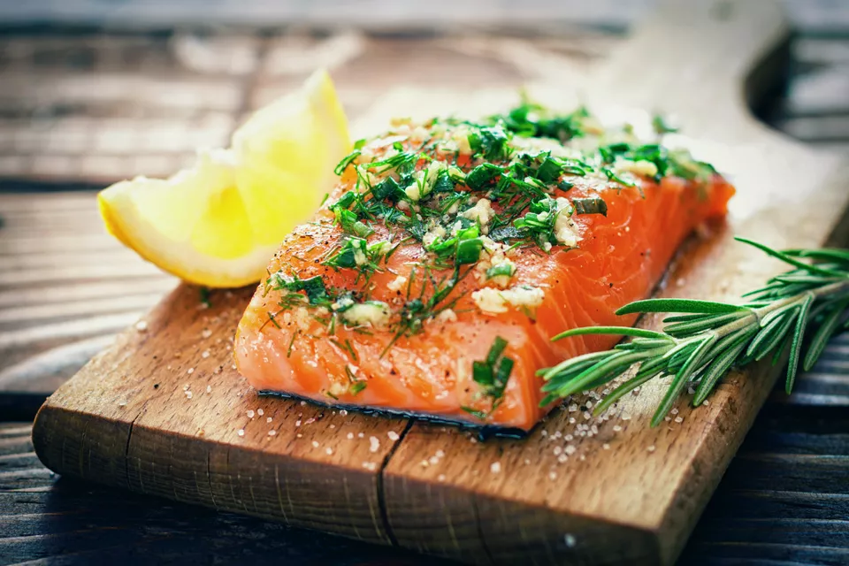 Herbed Grilled Salmon for Your George Foreman Grill in ...