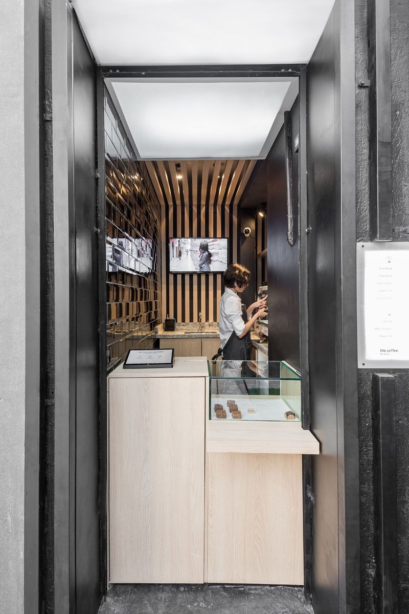 This Tiny Coffee Shop Was Created From A Small Unused