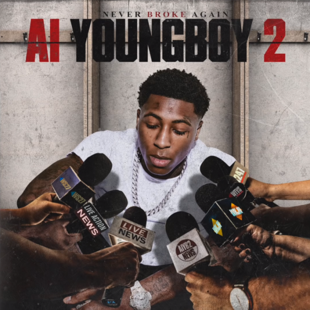 Rap Radar New Mixtape Youngboyneverbrokeagain Al Youngboy 2 Youngboy Back After Another Brief Pris In 2020 Rap Album Covers Music Album Covers Music Album Cover