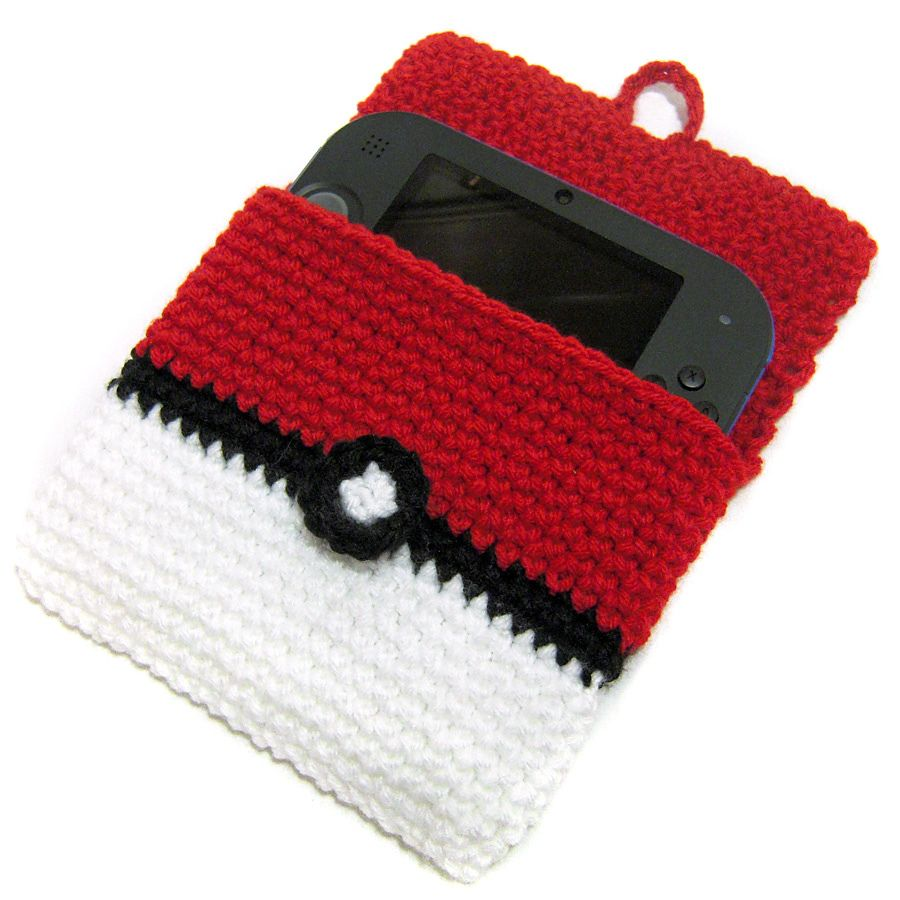 Ravelry: 2DS Pokeball Cover by i crochet things