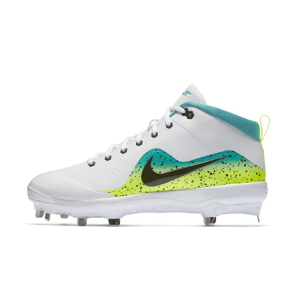 best authentic f82a5 c8bd0 Nike Force Air Trout 4 Pro Mahi Mens Baseball Cleats Size