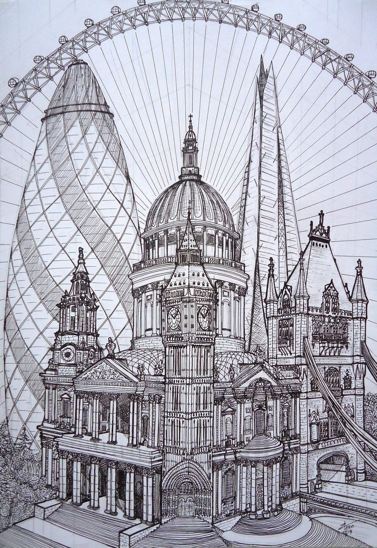 Pauls Big Ben Tower Of London The Shard