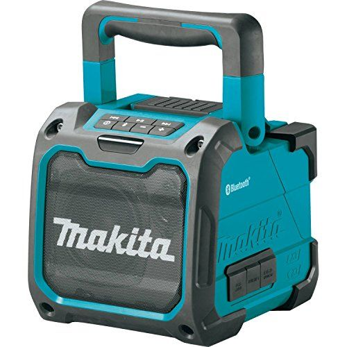 Makita Xrm07 18v Lxt Lithium Ion Cordless Bluetooth Job Site Speaker Tool Only Equipped With Bluetooth To Wir Bluetooth Speakers Portable Makita Makita Tools