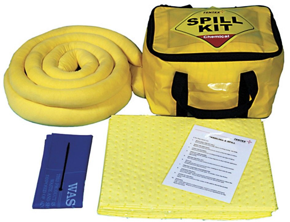 Spill Kit - Cube Bag  Small bag that can be taken direct to action Carefully packed with appropriate absorbents and PPE Refill Packs available