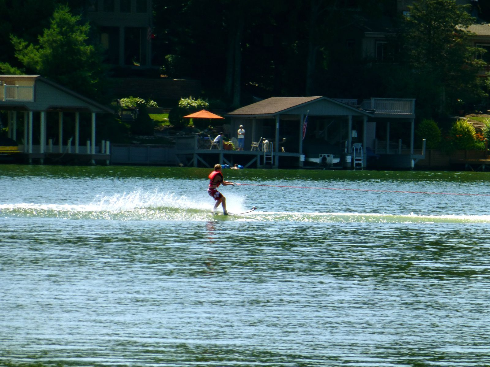 Log cabin on a lake royalty free stock photography image 7866317 - Water Skiing At The Apple Valley Lake Is A Ton Of Fun Many People First