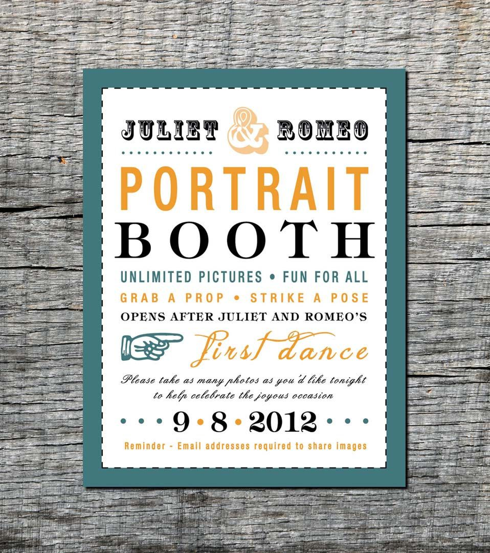Items Similar To Photo Booth Sign