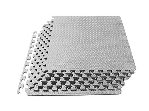 Love The Gray Color Will Probably Need 2 Of These Prosource Puzzle Exercise Mat High Quality Eva Foam Mat Exercises Interlocking Tile Foam Tiles