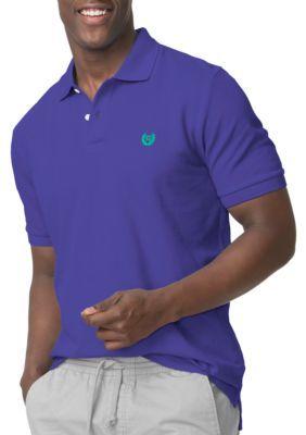 895c38ee7 Chaps Very Purple Big Tall Pique Polo Shirt   Pique polo shirt and ...
